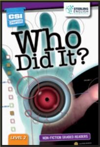 Non-fiction Graded Reader: Who Did It?