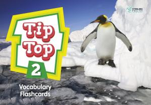 Tip Top 2 Vocabulary Flashcards